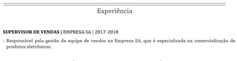 Experiência errada - MarQPonto